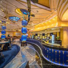 Compra caliente Mosaico turco Real K9 Araña de cristal