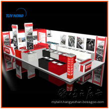 Corner booth Large Exhibition solution