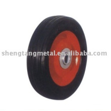 6 дюймов твердое резиновое колесо для ручной тележки SR0601