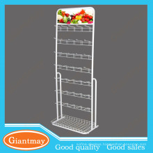 euro hook flooring stand seed display rack