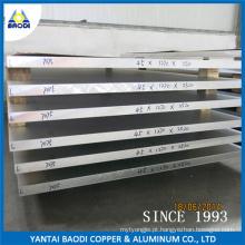 Folha e Placa de Liga de Alumínio 6061-6082, 6063, 6262