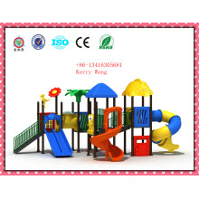 Kids Playground Equipment, Children Backyard Playground, Plastic Tubes Playground Jmq-P004b1