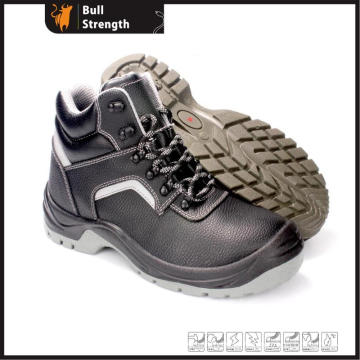 PU Injection Ankle Heavy-Duty Shoe with Steel Toe&Midsole (SN5377)