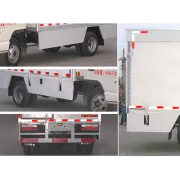 JAC 136HP Mobile Stage Truck para Roadshow