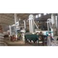 planta de processamento de sementes de quinoa