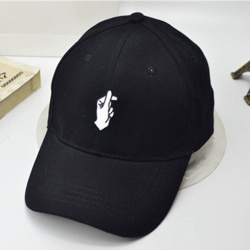 Custom Flat Embroidered Cotton Baseball Cap
