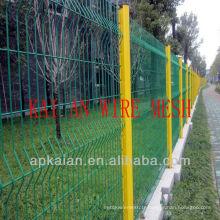 Hebei anping KAIAN Panneaux en clôture en maille galvanisée en PVC