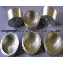 99.95% High Purity Polished Sintered Sapphire Crystal Tungsten Crucible
