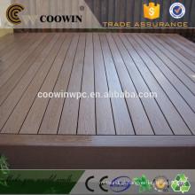 Pavimento composto de madeira de lei de engenharia cinza