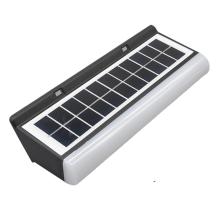 Solar night light with solar panel