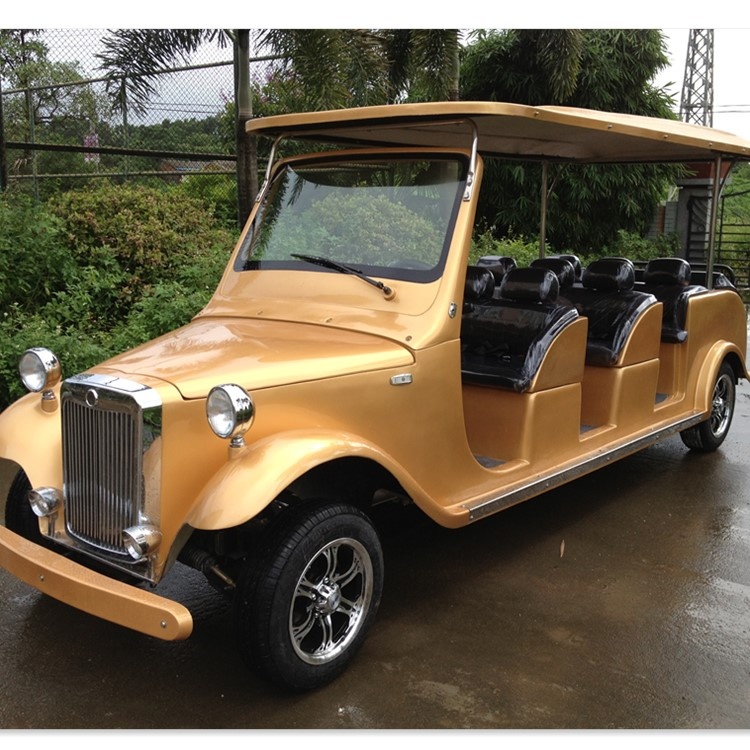 For sale classic 12 seats petrol golf cart