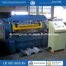 Decking do assoalho do metal lamina a formação da máquina