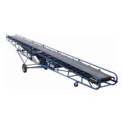 Mobile Rubber Belt Type Conveyor System