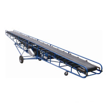 Convoyeur à bande mobile de sac de grain