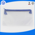 The custom clear PVC zipper bag