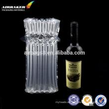 Aire columna empaquetado bolsa inflable paquete para botella de vino