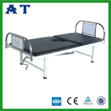 Stainless steel bedhead double-folding Nursing bed