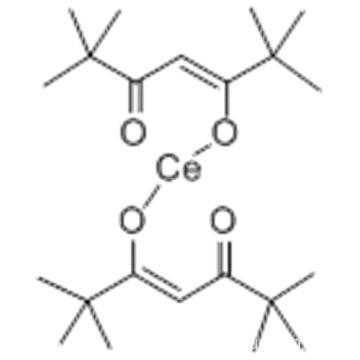 Cerium,tetrakis(2,2,6,6-tetramethyl-3,5-heptanedionato-kO3,kO5)-,( 57190467,SA-8-11''11''1'1'''1'1''')- CAS 18960-54-8