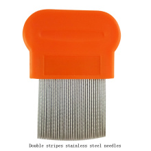 China for Small Lice Comb Plastic Handle Lice Comb Flea Comb export to Papua New Guinea Supplier
