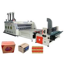 Máquina automática de impressão e encaixe Flexo