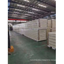 Low Cost and Affordable Fireproof Rock Wool Protective Sandwich Panel