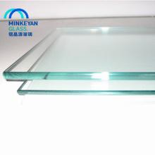 Vidrio templado empapado en calor transparente de 15 mm para construcción comercial