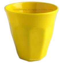 Taza de melamina de color liso con buen diseño (CP7297)