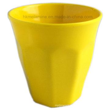 Copa de melamina de color sólido con buen diseño (CP7297)