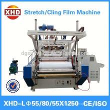 Alta resistência à tracção PE filme stretch fazer máquina