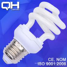 Economia de energia E27/B22 de 7mm de 8W / iluminação de economia de energia