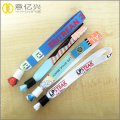 Promotion gifts disposable identify short wrist lanyard