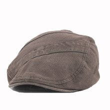 Heavy Washed Cotton IVY Cap with Elastic Back Closure