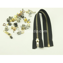 Open End Stainless Steel Metal Zipper for Jacket