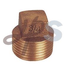 Plug de tubo de bronze de fundição