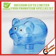 Werbeartikel Kinder Kunststoff Piggy Coin Bank