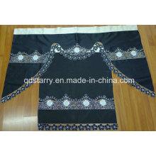 Black Color Amercia Kitchen Curtain
