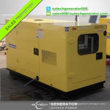 Buena calidad a prueba de sonido 15kva / 12kw Doosan Daewoo precio del generador