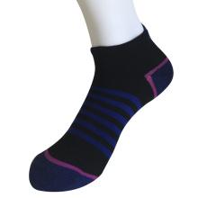 Half Kissen Poly Fashion Keine Show Middle Stripe Socken (JMPN11)