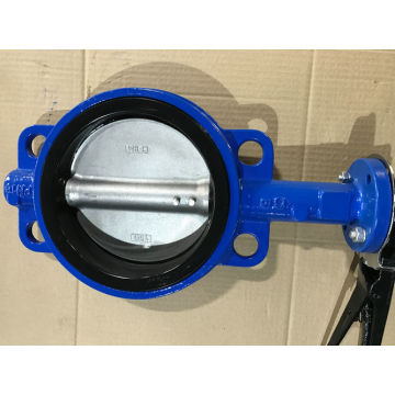 Iron Wafer Type Butterfly Valve