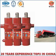 Cilindros hidráulicos de descarga lateral para camiones de descarga