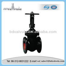 Válvula de compuerta de doble disco manual