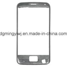 Fundição de magnésio para carcaças do telefone (MG1236) com tratamento de polimento e vendas aquecidas feitas na fábrica chinesa