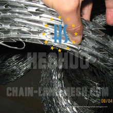 Clôture de prison de fil de rasoir en acier inoxydable de haute qualité