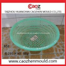 Alta qualidade de plástico usado cesta cesta de frutas em estoque