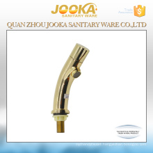 Deck mounted cold water gold basin tap