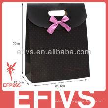 Proveedor de embalaje de caja de joyería delicada negro