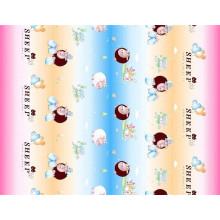 Tissu imprimé en polyester pour textile domestique