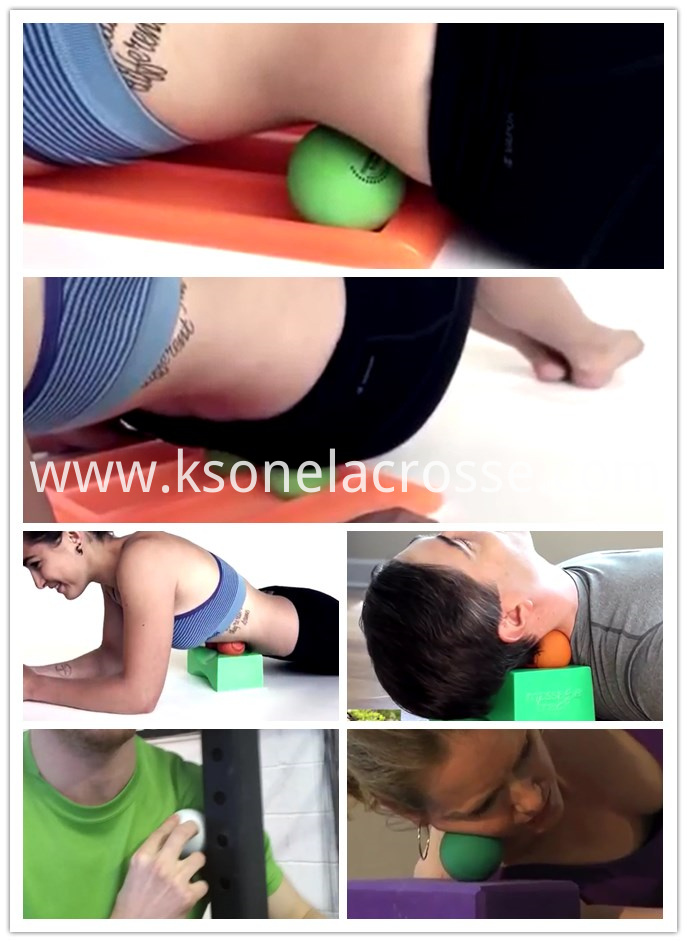massage ball use