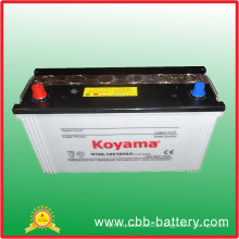 All Kinds of 12V Dry Charged Korean Auto Car Battery