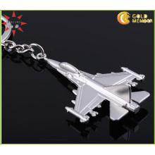3D Metal Plane Schlüsselanhänger Fabrik